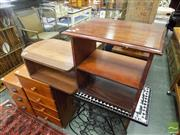 Sale 8472 - Lot 1037 - Timber Stepside Bookshelf