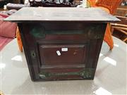 Sale 8745 - Lot 1014 - Art Nouveau Style Small Cabinet, no key