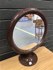 Sale 9056 - Lot 1020 - Moulded Plastic Dresser Top Mirror (h:50 x d:58cm)