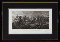 Sale 9080H - Lot 28 - After Couche Fils  et Bovinet, Revolutionary scene, Engraving (slight foxing) total frame size 38cm x 53cm