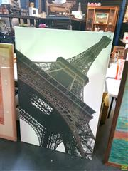 Sale 8582 - Lot 2118 - Canvas Artwork Eiffel Tower