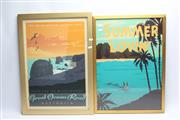 Sale 8658 - Lot 52 - Summer Lovin and Great Ocean Road Framed Prints