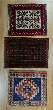 Sale 8657C - Lot 86 - 3 x Persian Door Mats