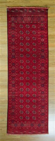 Sale 8672C - Lot 64 - Afghan Qunduzi 292cm x 92cm