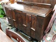 Sale 8700 - Lot 1051 - Art Deco Timber Sideboard
