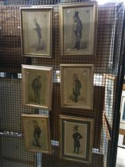Sale 8754 - Lot 2013 - Group of (6) Vanity Fair Statesmen colour lithographs (framed/various sizes)