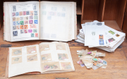 Sale 8795A - Lot 94 - Á quantity of world stamps and stamp albums
