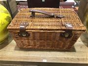 Sale 8893 - Lot 1077 - Cased Picnic Basket