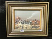 Sale 8981 - Lot 2012 - James Thomson Gold Fossickers Shack 25 x 30cm (frame) signed lower right