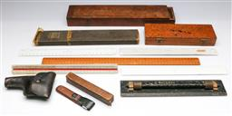 Sale 9173 - Lot 96 - A collection of vintage measuring instruments