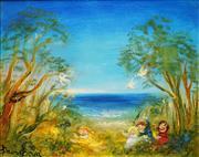 Sale 8504 - Lot 563 - David Boyd (1924 - 2011) - Hide and Seek 39 x 49.5cm