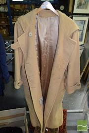 Sale 8506 - Lot 2097 - Vintage Camel Coat