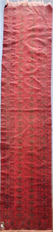 Sale 8787 - Lot 1064 - Persian Turkoman Runner (350 x 80cm)