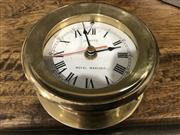 Sale 8959 - Lot 1005 - Quartz Clock (Depth: 5cm x Diameter: 11cm)