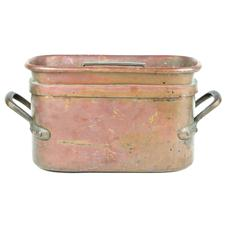 Sale 8351A - Lot 21 - French Copper Lidded Roasting Pan 37x20cm depth 18cm(approx weight 7kg)