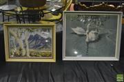 Sale 8368 - Lot 1019 - Pair of Vintage Prints