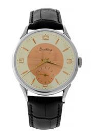 Sale 8618A - Lot 33 - A large vintage Breitling wristwatch;