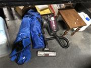 Sale 8789 - Lot 2264 - Home & Co Vacuum Cleaner a/f, Picnic Chair, Mini Picnic Chair & a Small Side Table