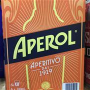 Sale 8801W - Lot 8 - 6x Aperol Aperitivo, 700ml