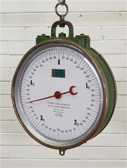Sale 9146 - Lot 1038 - Part Scales (d:40cm)
