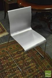 Sale 8398 - Lot 1046 - Set of 4 Metal Frame Chairs