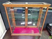 Sale 8589 - Lot 1011 - Vintage Small Glass Cabinet