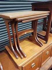 Sale 8705 - Lot 1033 - G Plan Teak Nest of Tables
