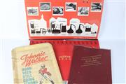 Sale 8748 - Lot 11 - Johnnie Walker 1985 and 1995 Calendars Together with A Laminated Poster and Timber Hanging Tray