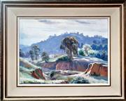 Sale 9058 - Lot 2025 - Reg Campbell, Afternoon, Hill End, oil on canvas board, 29 x 39 cm, signed lower right