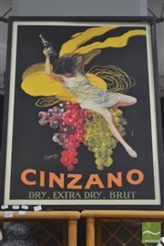 Sale 8289 - Lot 1082 - Cinzano Poster