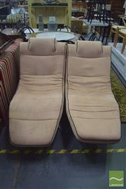 Sale 8390 - Lot 1275 - Pair Click-Clack Rocking Recliner