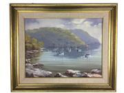 Sale 8607R - Lot 52 - Brian Baigent - Oil on Board (34 x 44cm)