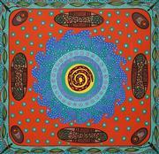 Sale 8642A - Lot 5011 - Bronwyn Bancroft (1958 - ) - Untitled, 2013 49 x 50.5cm
