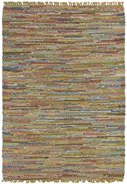 Sale 8651C - Lot 79 - Colorscope Collection; Flat Weave Rag Rug Polyester and Viscose - Multi Coloured Rug, Origin: India, Size: 160 x 230cm, RRP: $499