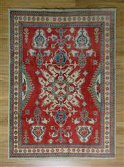 Sale 8672C - Lot 67 - Afghan Kazak 239cm x 167cm