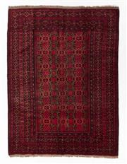 Sale 8800C - Lot 71 - A Vintage Afghan Kunduzi 100 % Wool Pile, 196 x 263cm