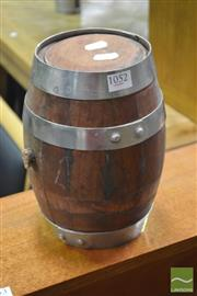 Sale 8289 - Lot 1052 - Small Timber Wine Barrel
