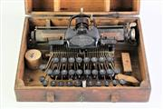 Sale 8890 - Lot 1 - Blickensderfer Cased Typewriter