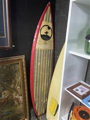 Sale 8949 - Lot 2089 - Hui Surfboard Shaped by Pete Billington 65 x 192.5, 819-pb