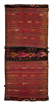 Sale 8380C - Lot 70 - Persian Saddle Bag 132cm x 60cm