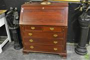 Sale 8520 - Lot 1072 - Drop Front Bureau