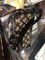 Sale 8819 - Lot 2480 - A Monogram Sequin Bag, H 13 x W 23cm.