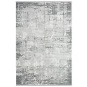 Sale 8912C - Lot 56 - Turkish Woven Vintage Carpet Collection 02, Silver/Blue, 160x230cm, Viscose/Acrylic