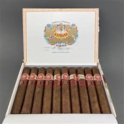 Sale 9120W - Lot 1426 - H. Upmann 'Royal Robusto' Cuban Cigars - box of 10 cigars, dated March 2017