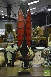 Sale 8368 - Lot 1056 - Tribal Table Lamp