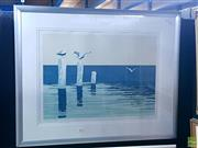 Sale 8582 - Lot 2026 - Valerie Jordan, Resting Place, screenprint, ed. 51/80, frame size: 72 x 88cm, signed lower right