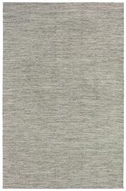 Sale 8651C - Lot 82 - Colorscope Collection; Flatweave Wool and Cotton - Steel Grey Rug, Origin: India, Size: 160 x 230cm, RRP: $499