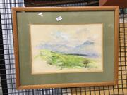 Sale 8750 - Lot 2023 - Molly Johnson - Woodbury Lodge pastel, 40 x 51cm, signed lower right