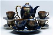 Sale 8864O - Lot 657 - Carltonware Blue glazed Tea Service
