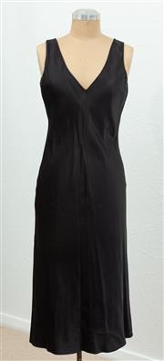 Sale 9066H - Lot 92 - An Armani Exchange sleeveless V-Neck midi dress, size M